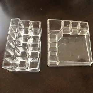 Other - Makeup displays set of two